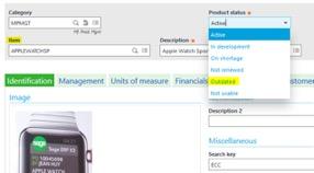vocabulary function in Sage Enterprise Management