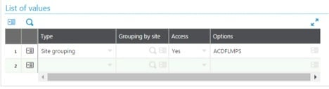 pick ticket security in Sage X3