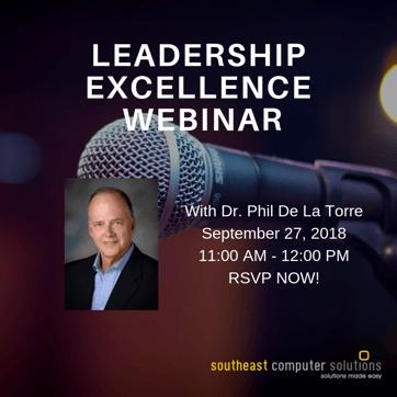 Leadership excellenceseries
