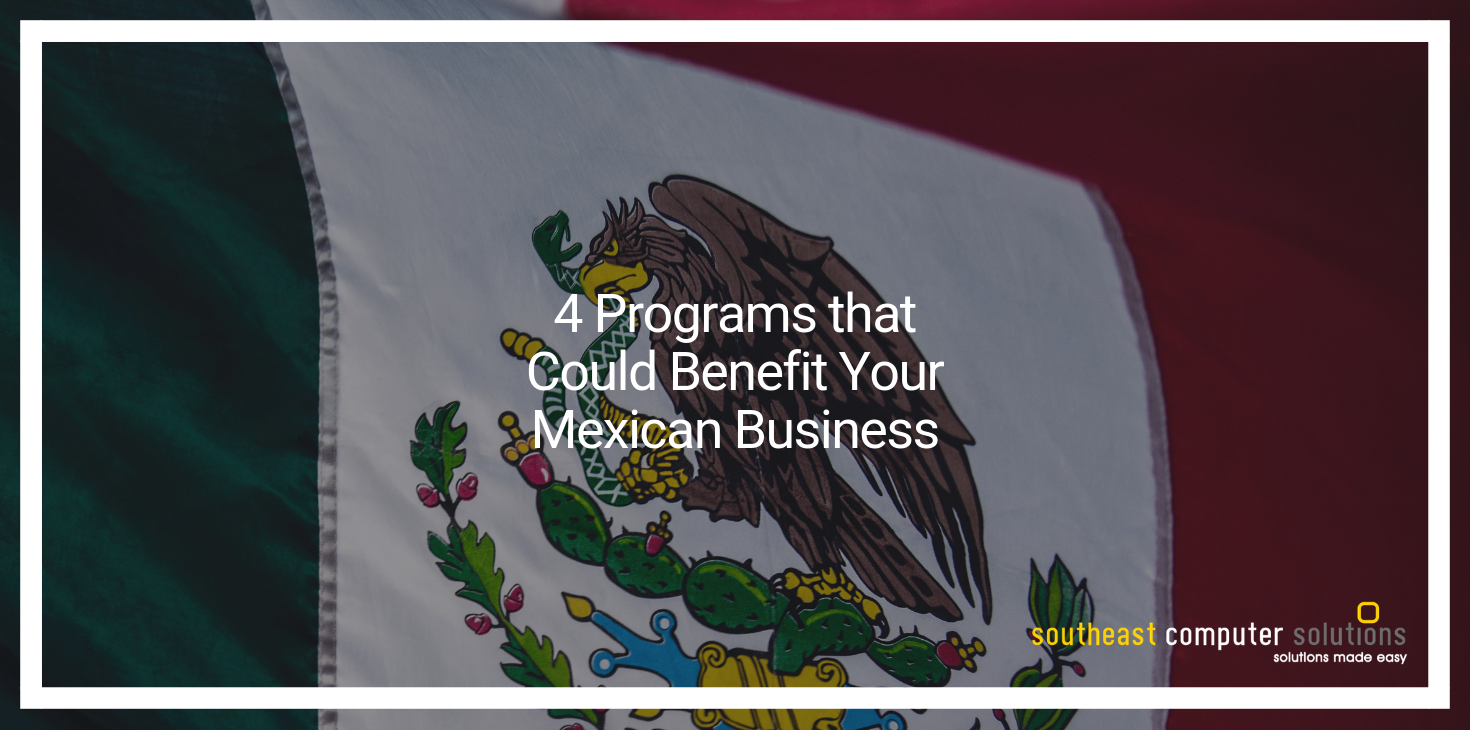 4 Programs that Could Benefit Your Mexican Business