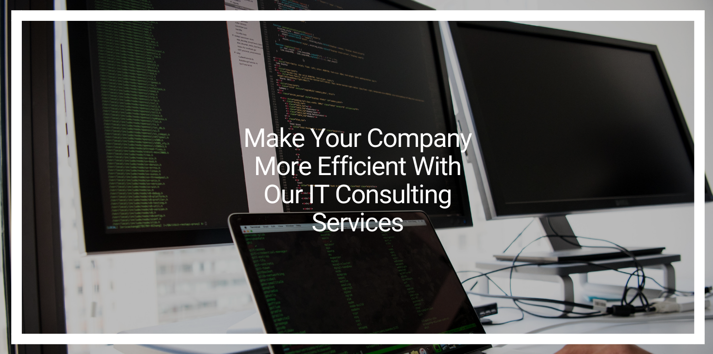 Make Your Company More Efficient With Our IT Consulting Services